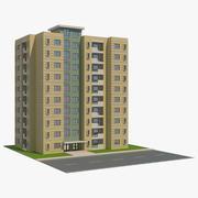 Wohngebäude 8 3d model
