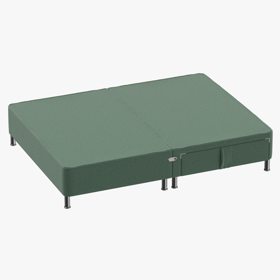 Bed Base 06 Mint royalty-free 3d model - Preview no. 1