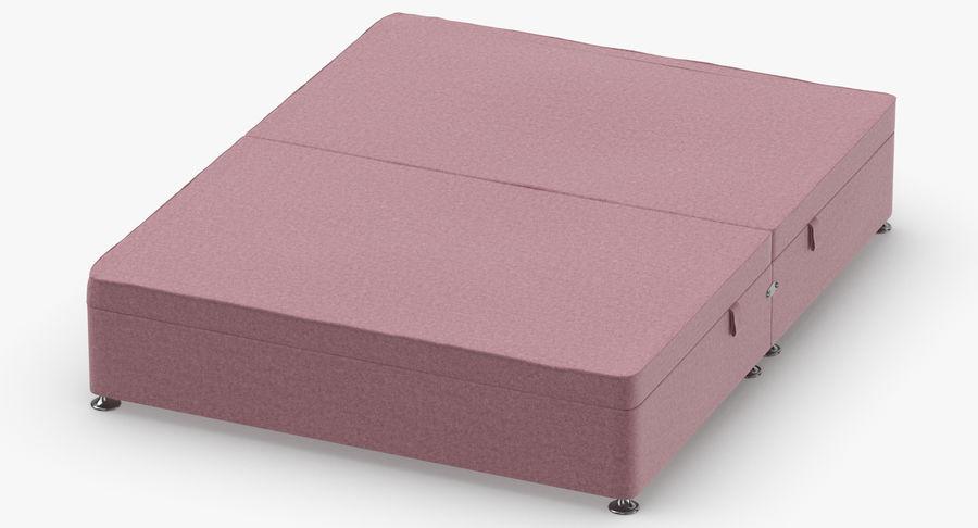 Bed Base 07 Blush royalty-free 3d model - Preview no. 4