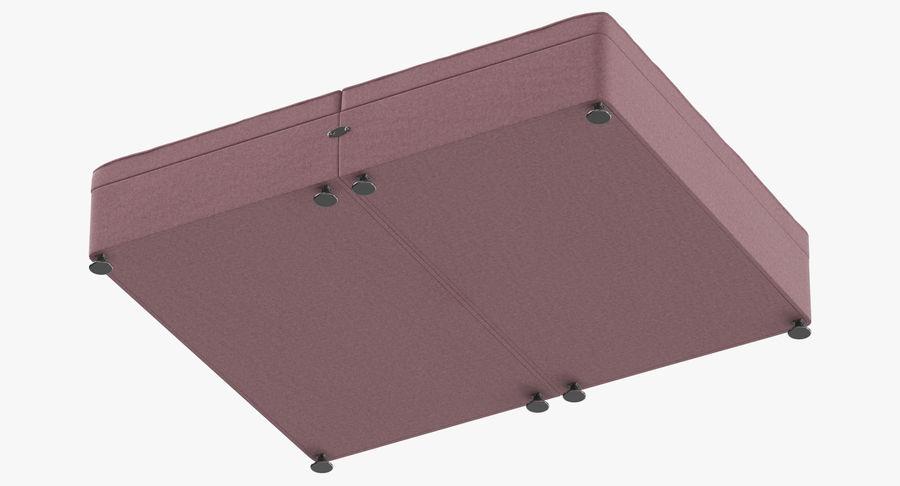 Bed Base 07 Blush royalty-free 3d model - Preview no. 8