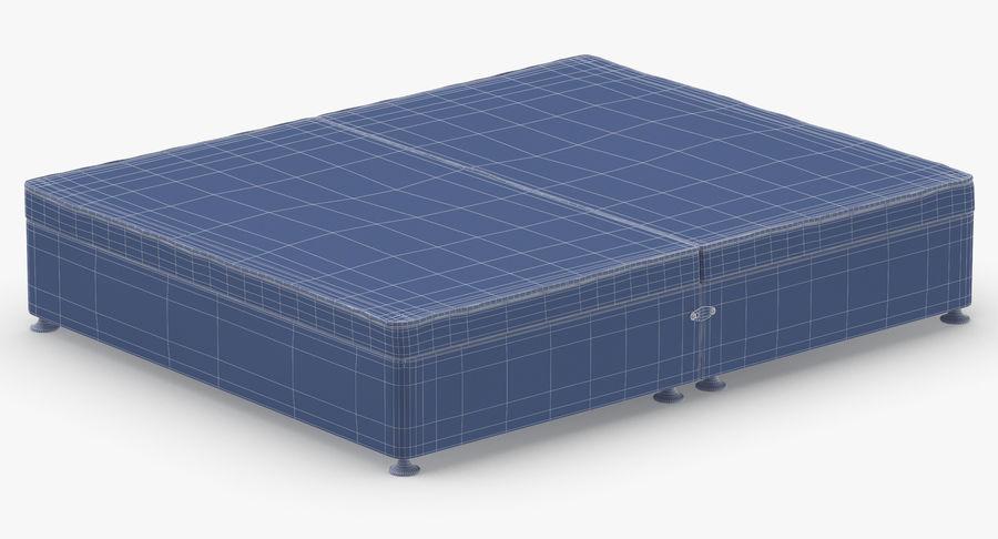 Bed Base 07 Blush royalty-free 3d model - Preview no. 14