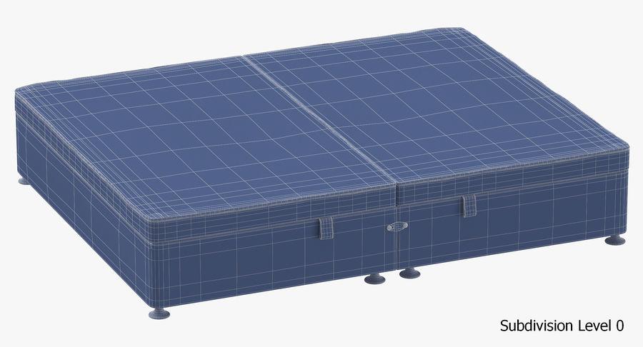 Bed Base 07 Blush royalty-free 3d model - Preview no. 18