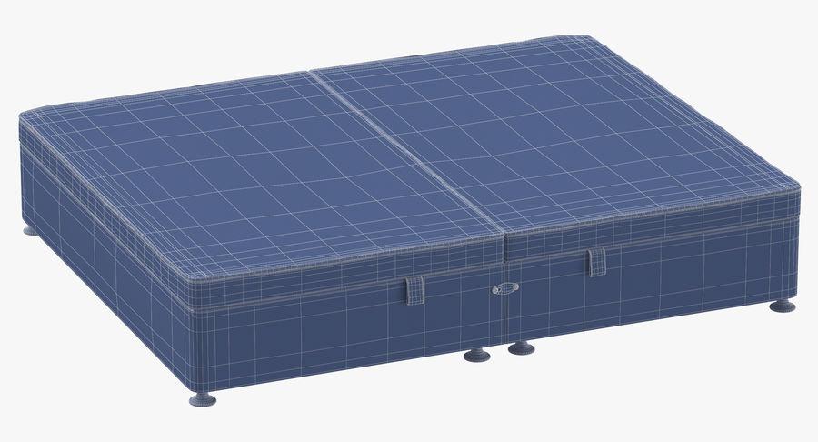 Bed Base 07 Blush royalty-free 3d model - Preview no. 10