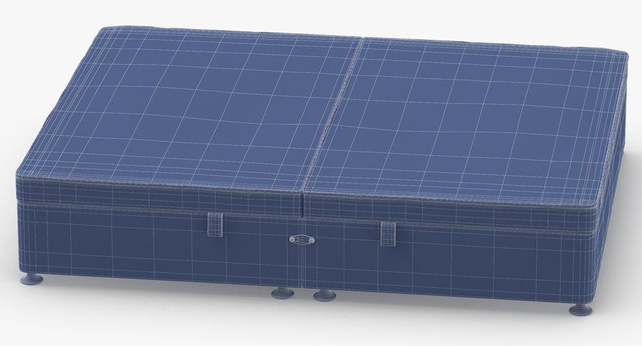 Bed Base 07 Blush royalty-free 3d model - Preview no. 13