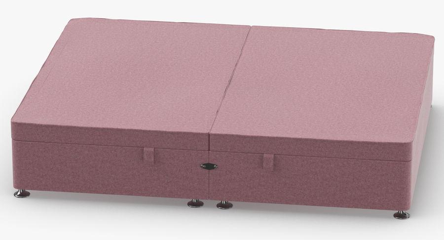 Bed Base 07 Blush royalty-free 3d model - Preview no. 5