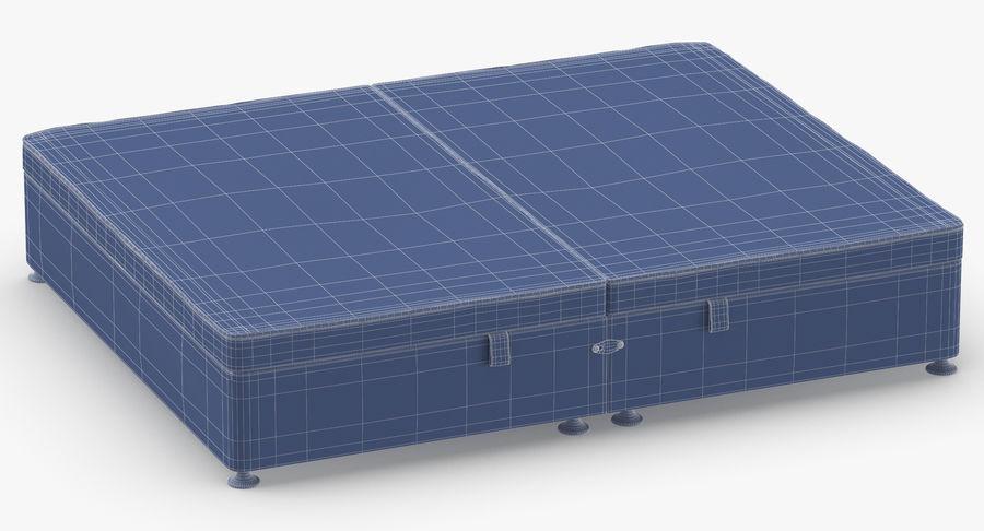 Bed Base 07 Blush royalty-free 3d model - Preview no. 11