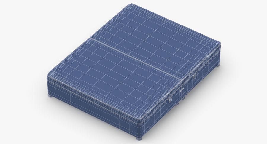 Bed Base 07 Blush royalty-free 3d model - Preview no. 15
