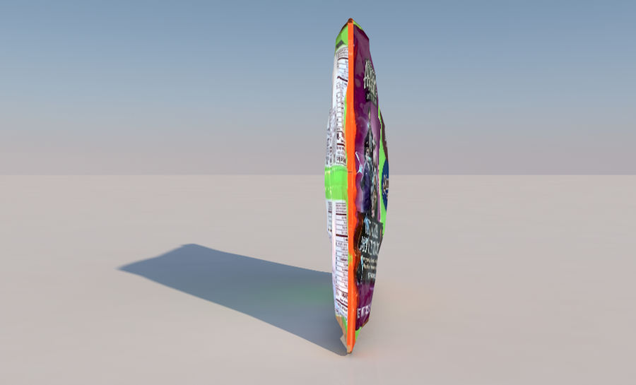 Bag of Candy royalty-free 3d model - Preview no. 5