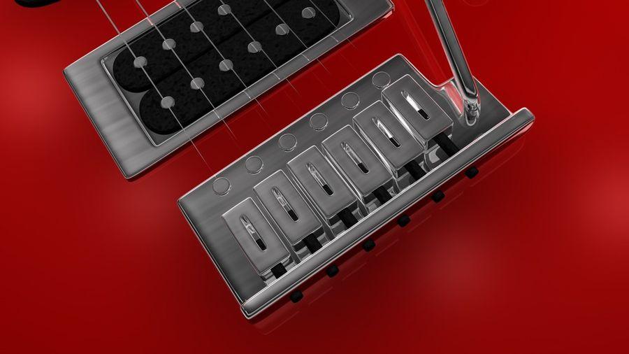 Elgitarr royalty-free 3d model - Preview no. 8