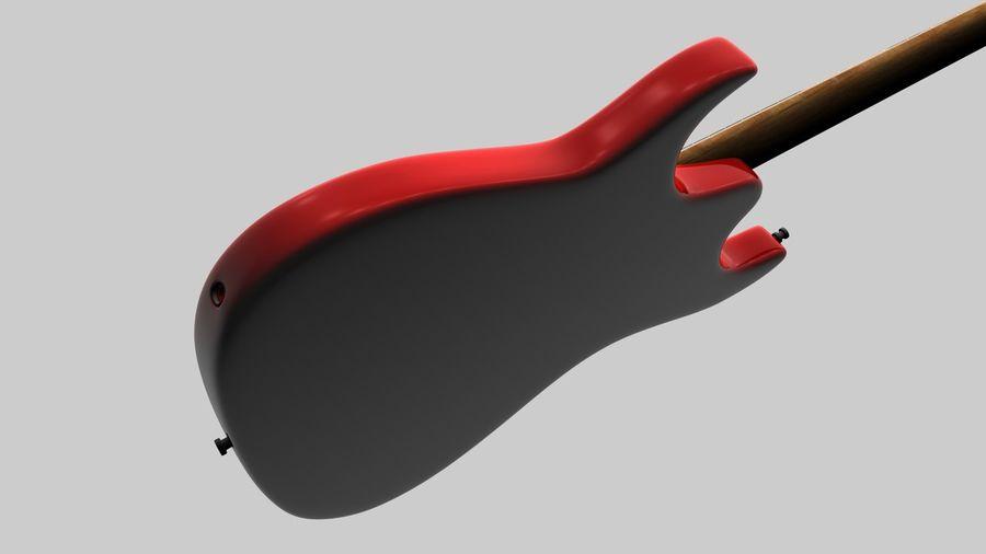 Elgitarr royalty-free 3d model - Preview no. 12