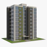 주거용 건물 09 3d model