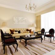 Apartamento Modelo de luxo interior 3d model