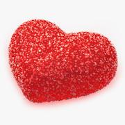 Candy Heart modelo 3d