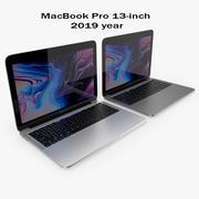 Apple MacBook Pro de 13 pulgadas 2019 modelo 3d