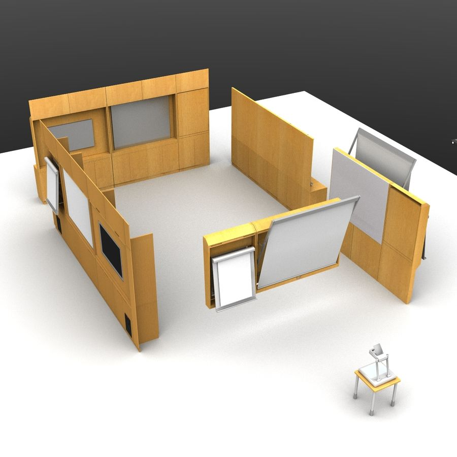 Conferentie royalty-free 3d model - Preview no. 9