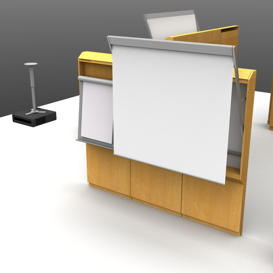 Conferentie royalty-free 3d model - Preview no. 3