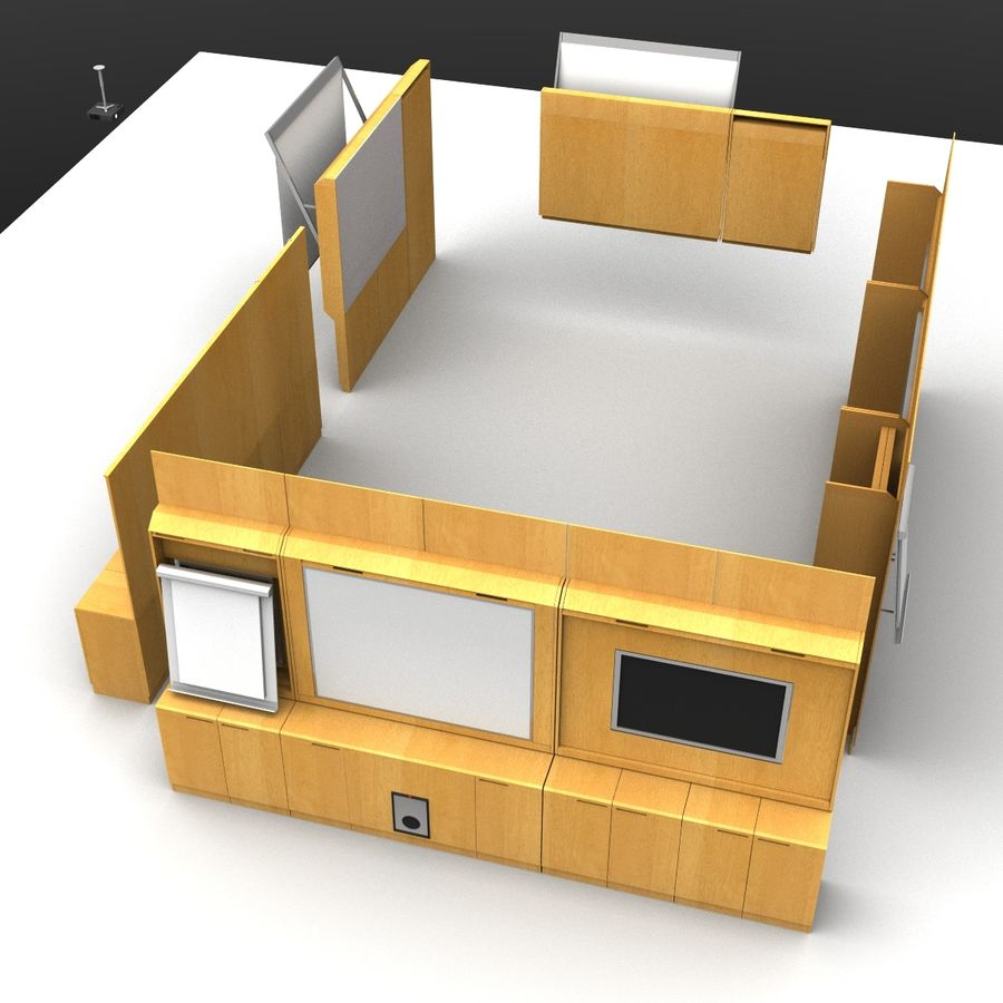 Conferentie royalty-free 3d model - Preview no. 8