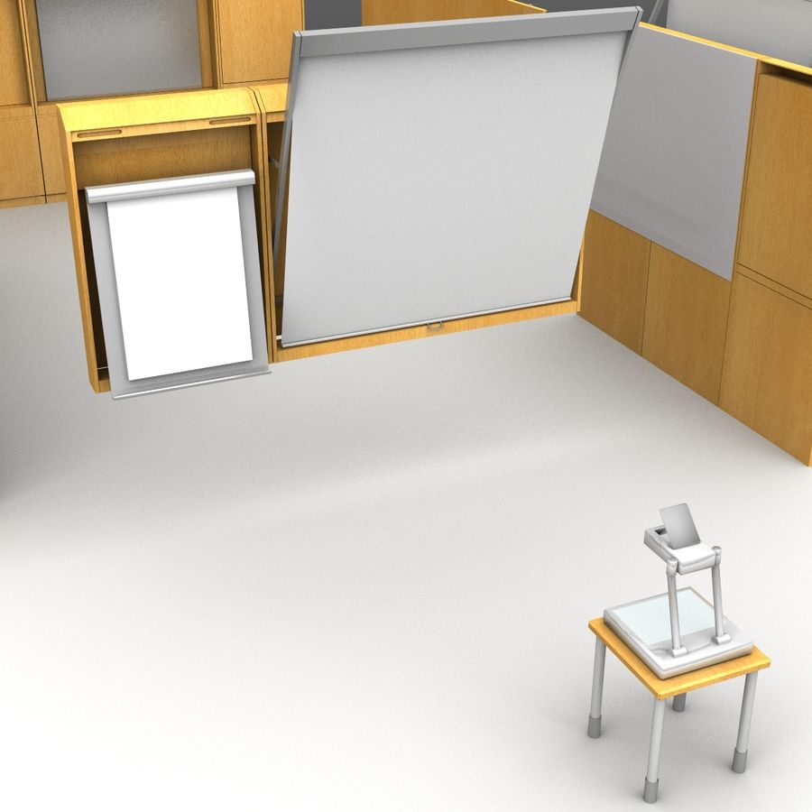 Conferentie royalty-free 3d model - Preview no. 6