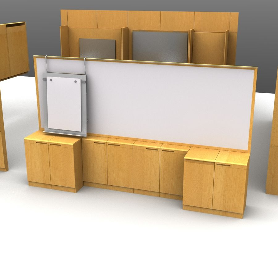 Conferentie royalty-free 3d model - Preview no. 2