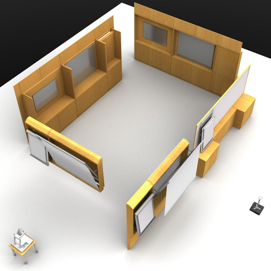 Conferentie royalty-free 3d model - Preview no. 10