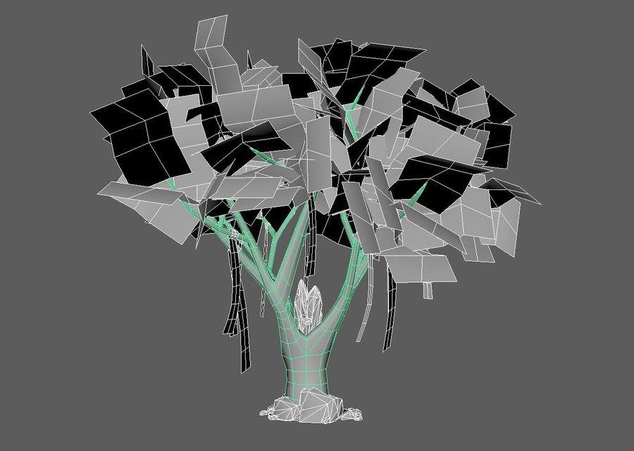Fantasy tree royalty-free 3d model - Preview no. 5