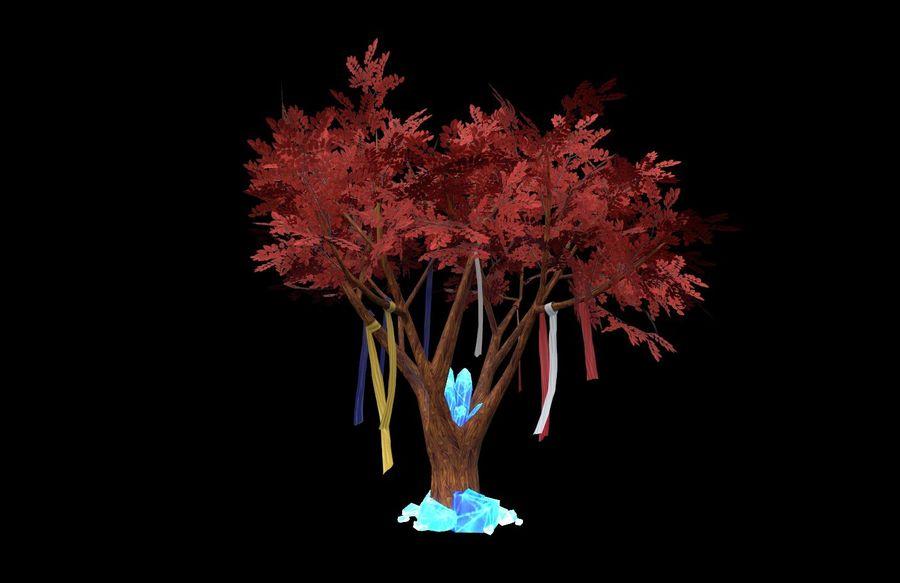 Fantasy tree royalty-free 3d model - Preview no. 2