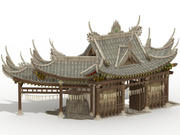 Ancient Chinese House 3d model