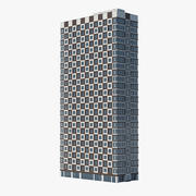Checker High Building 3d model