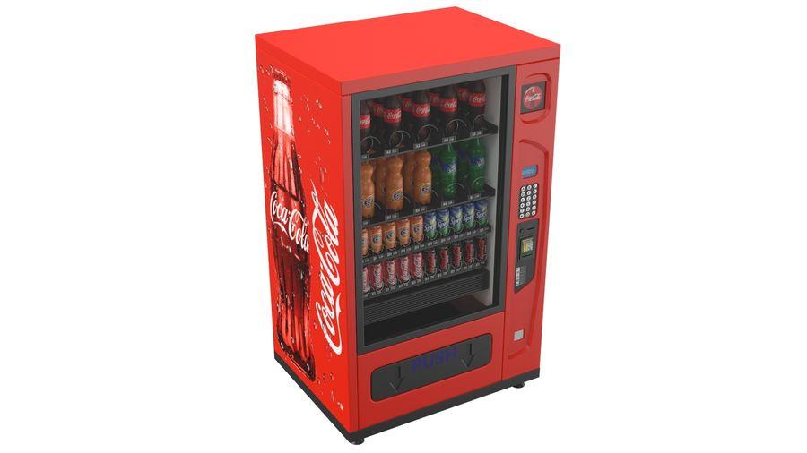 Distributore automatico di cola riempito royalty-free 3d model - Preview no. 3