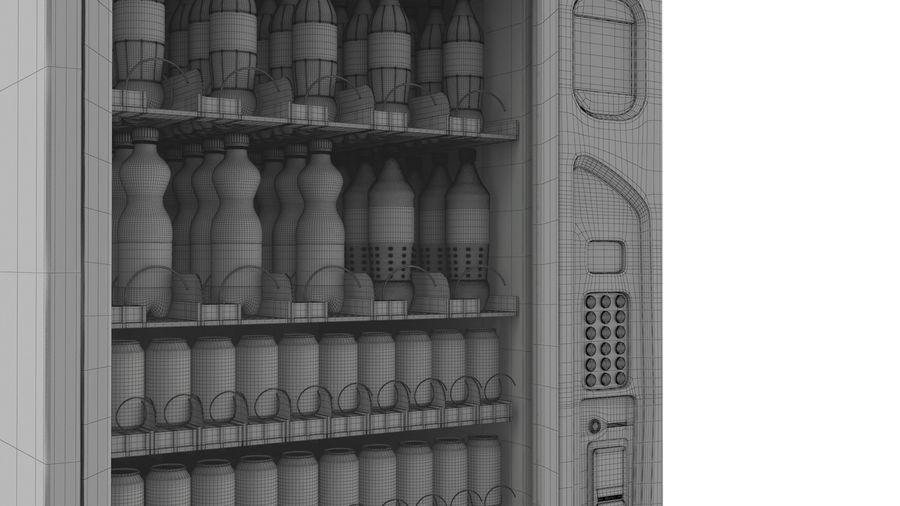 Distributore automatico di cola riempito royalty-free 3d model - Preview no. 13
