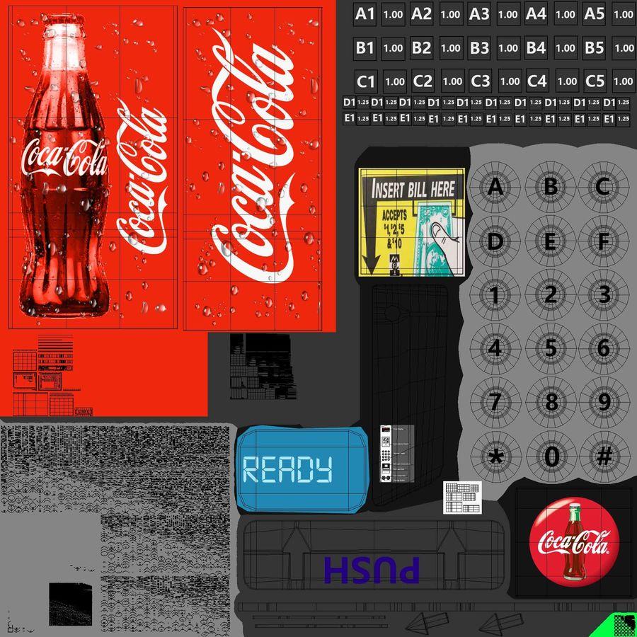 Distributore automatico di cola riempito royalty-free 3d model - Preview no. 21