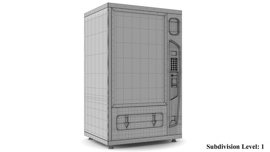 Distributore automatico di cola riempito royalty-free 3d model - Preview no. 9
