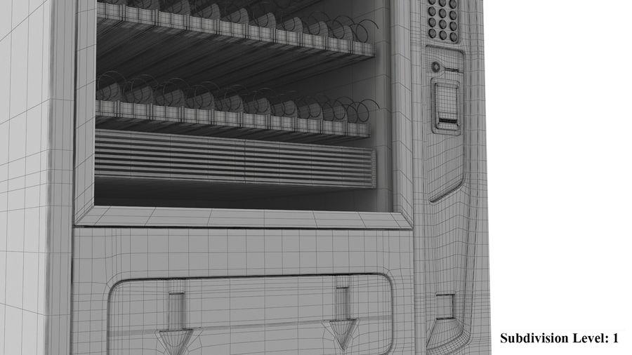 Distributore automatico di cola riempito royalty-free 3d model - Preview no. 11