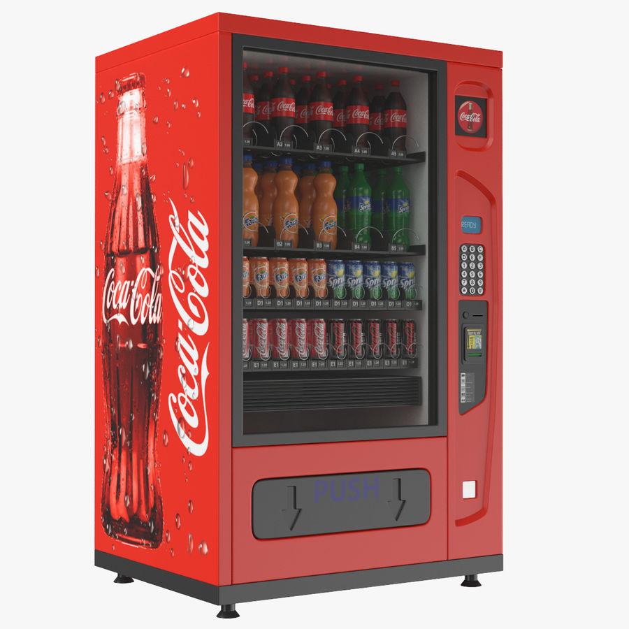 Distributore automatico di cola riempito royalty-free 3d model - Preview no. 1