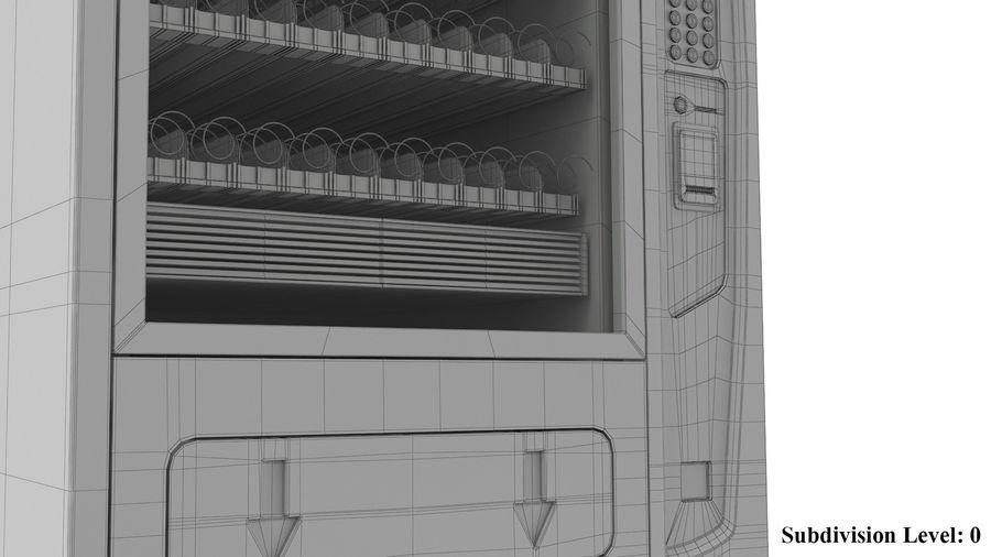 Distributore automatico di cola riempito royalty-free 3d model - Preview no. 10