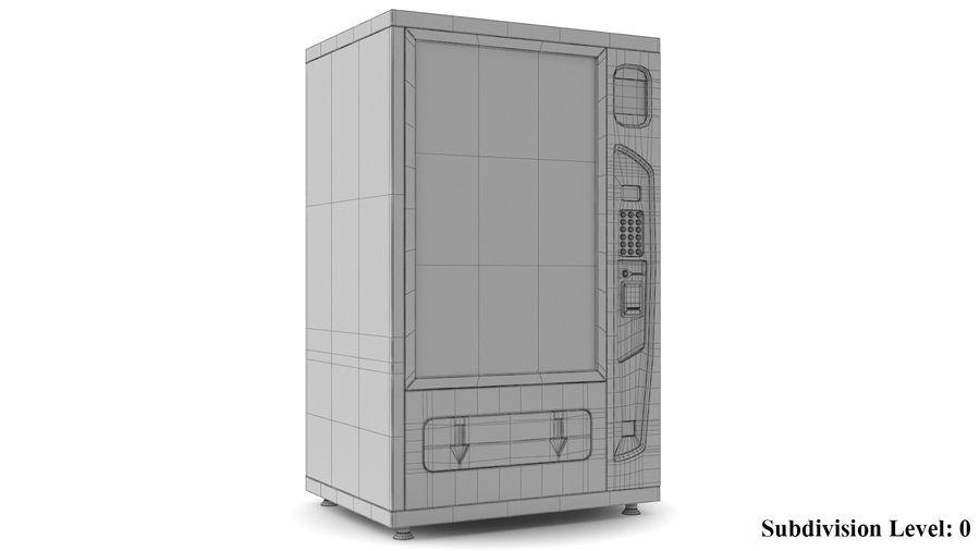 Distributore automatico di cola riempito royalty-free 3d model - Preview no. 8