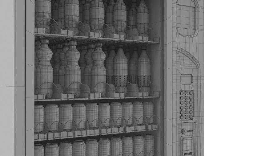 Distributore automatico di cola riempito royalty-free 3d model - Preview no. 12