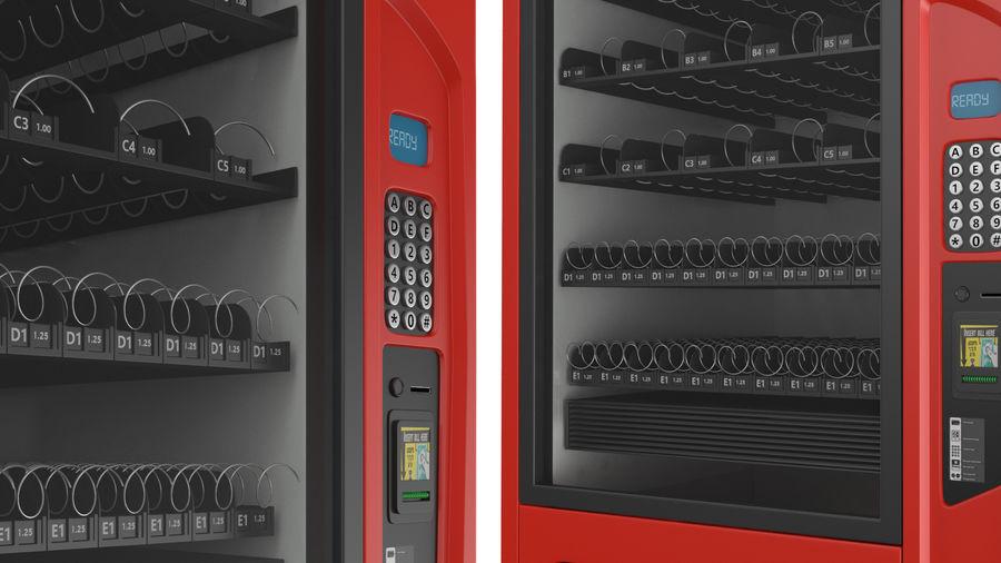 Distributore automatico di cola riempito royalty-free 3d model - Preview no. 6