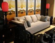Chiński salon 3d model