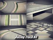 Racing Track Kit 3d model