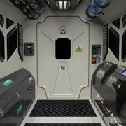 Spaceship/Station Interior 3d model