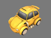 Мультфильм автомобиль 3d model