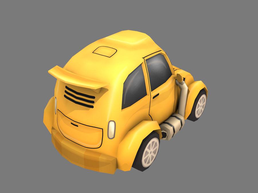 Cartoon Car royalty-free 3d model - Preview no. 4