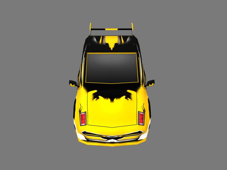 Çizgi Araba royalty-free 3d model - Preview no. 5