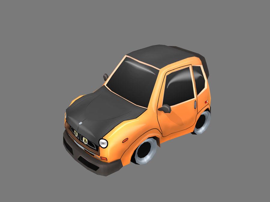 Мультфильм автомобиль royalty-free 3d model - Preview no. 1