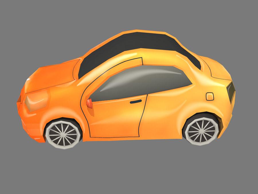 Cartoon Car royalty-free 3d model - Preview no. 2