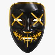 Le masque de purge (néon) 3d model