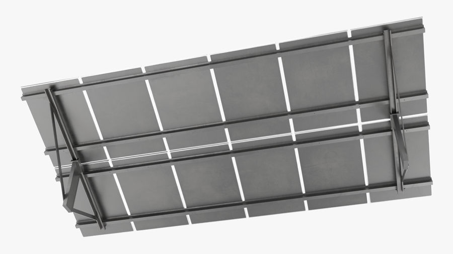 Solar Panels royalty-free 3d model - Preview no. 5