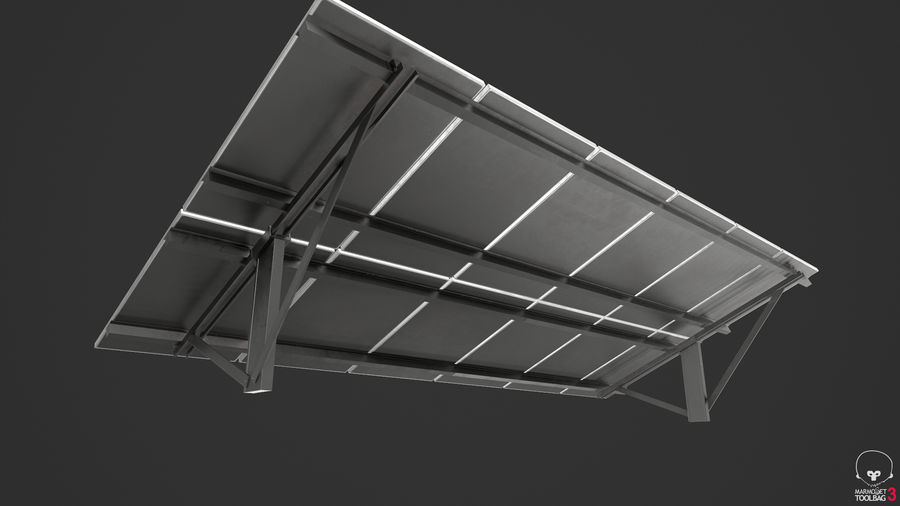 Solar Panels royalty-free 3d model - Preview no. 13