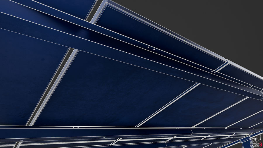 Solar Panels royalty-free 3d model - Preview no. 17